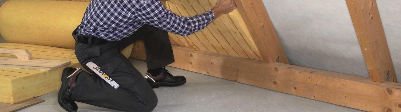 Dachrenovierung. Wärmedämmung. Dachbau
